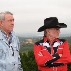 Dan Rather & Willie Nelson